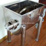 Mezcladora de la cinta del polvo horizontal de acero de la proteína