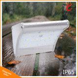 Da segurança sem fio solar da luz do jardim de 450 lúmens lâmpada ao ar livre com os 4 em 1 sensor de movimento do radar das modalidades