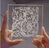 ガラス革のための最もよい価格80Wの二酸化炭素レーザーの彫版機械