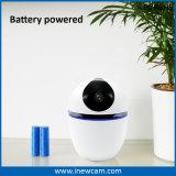 1080P電池式のスマートなホーム自動追跡のWiFi IPのカメラ