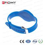 Wristband astuto impermeabile di RFID con il chip di MIFARE
