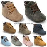 De Schoenen van de Tennisschoen van het Leer van de Jongen van de Baby van de peuter elimineren de Laarzen Warme Esg10362 van de Sneeuw