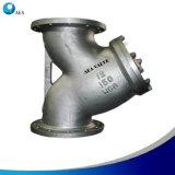 DIN PN16/Pn25/Pn40 углеродистой стали ОО-C25 конец с фланцем Y производителем сетчатого фильтра