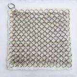 Уборщик сетки кольца Chainmail нержавеющей стали