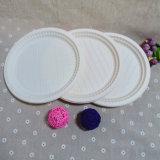 Dos utensílios de mesa biodegradáveis feitos sob encomenda de Dinnerplate do Throw placas descartáveis afastado