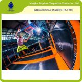 Belüftung-überzogenes Gewebe-Hersteller Belüftung-Trampoline-Park-Gewebe