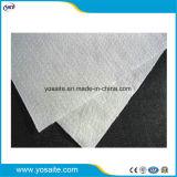Короткие волокна Нетканый перфорированного ПЭТ Geotextile иглы