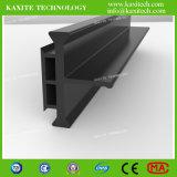 Profil de barrière de chaleur de fibre de verre du polyamide 6.6 25% des TCI 30mm de forme