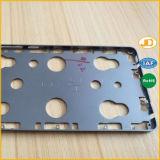 Pezzo meccanico di CNC di precisione del coperchio di alluminio del telefono