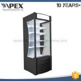 슈퍼마켓 청량 음료를 위한 열려있는 전시 냉장고 냉장고