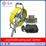 трубы кабеля pushrod 60m оборудование осмотра твердой видео- с малой головкой камеры уровня собственной личности трубы