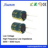 可聴周波電源のための63V 100UFの電気分解コンデンサー
