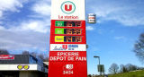 ガソリンスタンドのための12inch価格のボード
