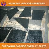 Плита износа карбида хромия заварки для транспортера