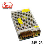 Smun S-50-24 50W 24VCC 2A Alimentation du commutateur de sortie