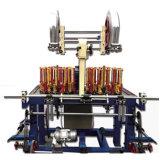 Duas cabeças de aço do Controlador PLC entrelaçando a máquina