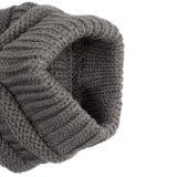 Beanie-Ausdehnungs-Kabel-100%Acrylic gestrickter Pferdeschwanzbeanie-Hut