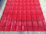 Colorare le mattonelle di punto lustrate tetto ondulato d'acciaio laminato a freddo la formazione facendo la macchina