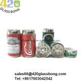 La Schioccare-Parte superiore della bibita analcolica può smerigliatrici in lega di zinco per tabacco 420smoke/erba