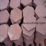 التهب [بورفري] طبيعيّة حمراء جلمود حجارة لأنّ درب