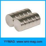 De ronde Magneet van de Cilinder van NdFeB van de Magnetische Schijf