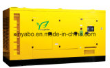 セリウムの証明書が付いているPortable100kVAの無声タイプ力のディーゼル発電機セット