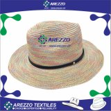 Sombrero de vaquero de papel de la paja del verano (AZ025B)