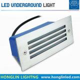 屋外のステンレス鋼の表面IP65 3W 12V LED地下ライト