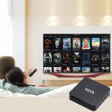 Mx9 Android Market 6.0 Google Internet TV Caixa com Chip de rocha 3229 Quad Core 64bit 1 GB 8 GB de 2,4Ghz Suporte WiFi HD 4K