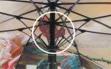 Зонтик гольфа нервюр печатание 30inch 8 цифров изготовленный на заказ высокого качества двойного слоя полный