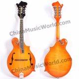 Mandolina completamente Handcrafted de Mandola de la dimensión de una variable de la música F de Pango (PIB-008)