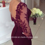 Длиннее платье вечера W147196 Mermaid Spandex мантий выпускного вечера выпускного вечера втулки
