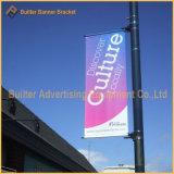 Rue lumière métallique de la publicité de pôle de signer les pièces (BS-BS-044)