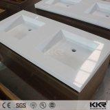 Corian gesundheitliches Ware-Badezimmer-festes Oberflächeneitelkeits-Bassin
