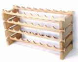 モジュラースタック可能材木のワインラック把握3-12ワイン・ボトル