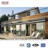 Interruption thermique d'isolation thermique glissant les portes en aluminium Windows pour la villa