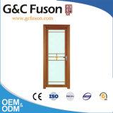Porte intérieure en verre de tissu pour rideaux de salle de bains en aluminium