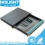 Tableau de connexions de fibre pour 24 ports MPO au Sc