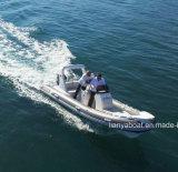 Barco inflável de China do barco do reforço de Liya 5.2m Hypalon para a venda