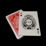 Spielkarten des Großhandelsschwarzen Kern-310GSM für Kasino-Verein