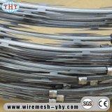 Загородка бритвы провода оцинкованной стали колючий