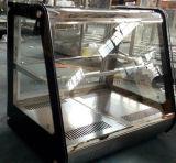 Mini warmer Nachtisch-Einkommen-Gegenspitzenminischaukasten-Glastür-Wärmer