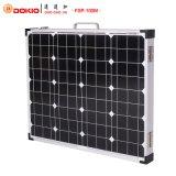 le panneau solaire 100W monocristallin pliable avec portent le sac