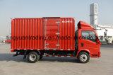 4*2 de Vrachtwagen van de Doos HOWO, Van Truck met de Dieselmotor van 91 PK