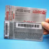 kundenspezifische Drucken Plastikmehrschlüsselmarkenkarte für Loyalitätsystem
