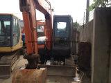 Используется экскаватор Hitachi Zx55 6 тонн мини-экскаватор с отвалом