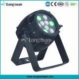 屋外の32ビットDiming 9*3W RGB DMX LEDの段階の照明