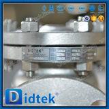 Didtek Form-Stahl flanschte Enden-Schwingen-Rückschlagventil