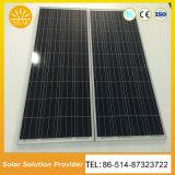 Iluminación solar solar de las luces de calle LED con la batería que cuelga en el poste