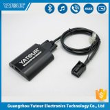 Aux Bluetooth Car Kit Bluetooth Adaptador USB para Kit Manos Libres Estéreo para coche